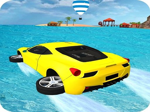 Play Water Surfing Car Stunts Game 3D Online