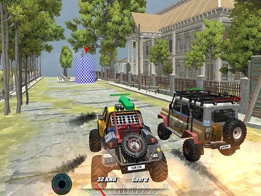 Play Offroad Monster Truck Forest Championship Online